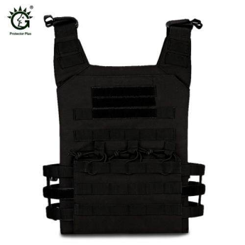Protector Plus Tactical Combat Vest Amphibious Waistcoat (black) By Happy Life Enterprise.