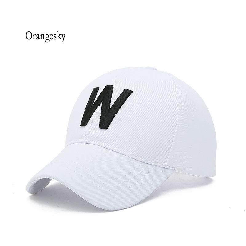 58f050eb7 Orangesky Men Women Baseball Cap Cotton W Embroidery Adjustable Outdoor  Sport Plain Sun Hat