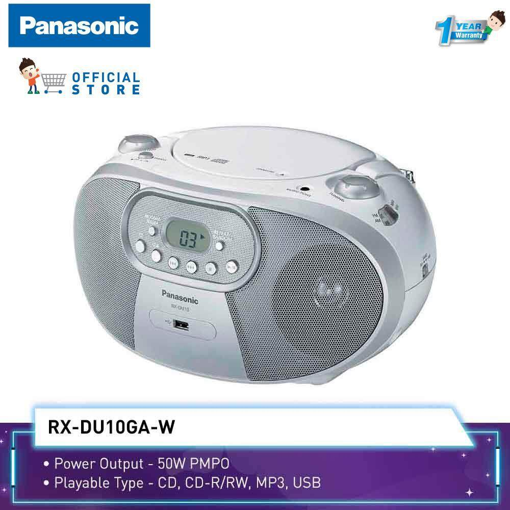 Panasonic Radio Rx-Du10 (50w) Usb + Cd Player + Mp3 By Panasonic Malaysia.