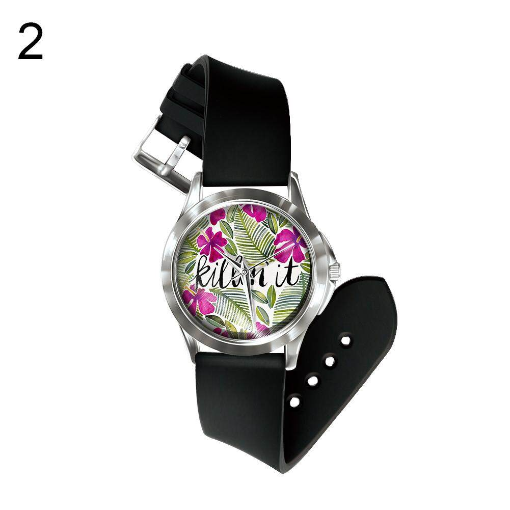 BODHI Number Free Wrist Watch Hand Decor Colorful Fruit Plant Unisex Events Gift (2#) Malaysia