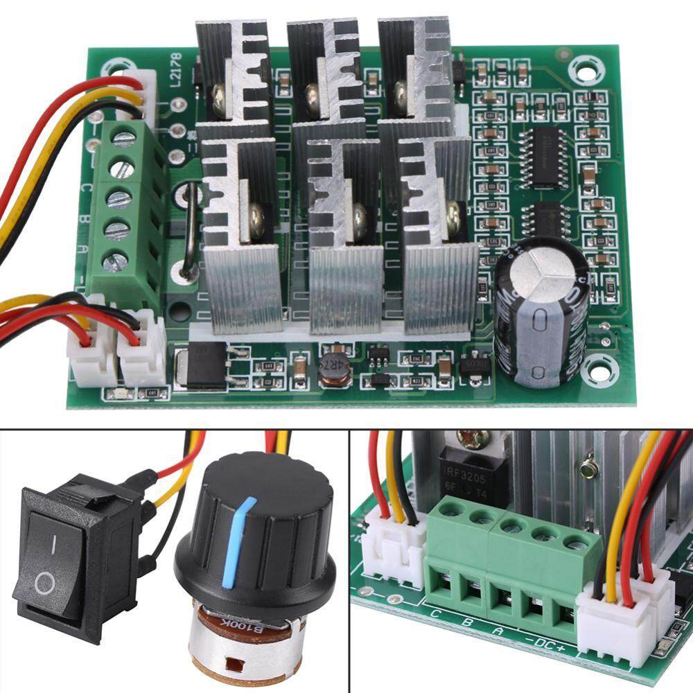 Home Electrical Buy At Best Price In Malaysia Phase Power Saver Circuit 3 Dc 5v 36v 15a Brushless Motor Speed Control Cw Ccw Reversible Switch