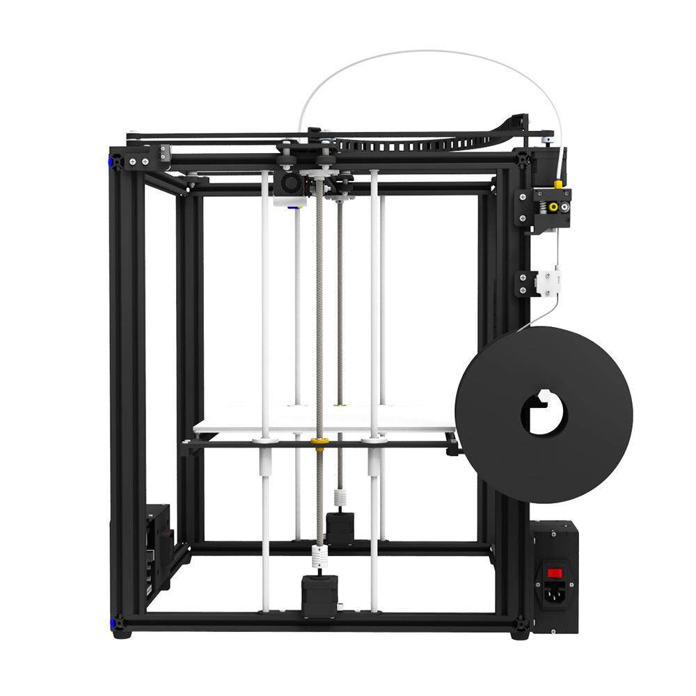 Tronxy High Accuracy 3D Printer DIY Kit with Heatbed Touch Screen Support Auto Leveling Resume Printing Filament Run Out Detection Building Size 330*330*400mm
