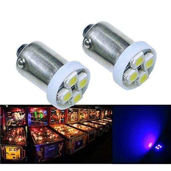 Pa® 10pcs 1893 44 47 756 1847 Ba9s 4smd Led Wedge Pinball Machine Light Bulb Pink (purple)-6.3v By Buyhole.