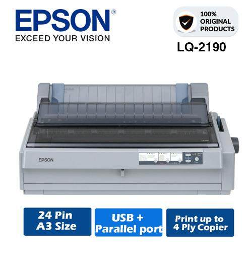 windows 7 os bundled printer driver epson lq-590