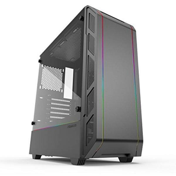 Phanteks Eclipse P350X (PH-EC350PTG_DBK) Compact EATX Mid-Tower Case, Tempered Glass, Digital RGB, Black Malaysia