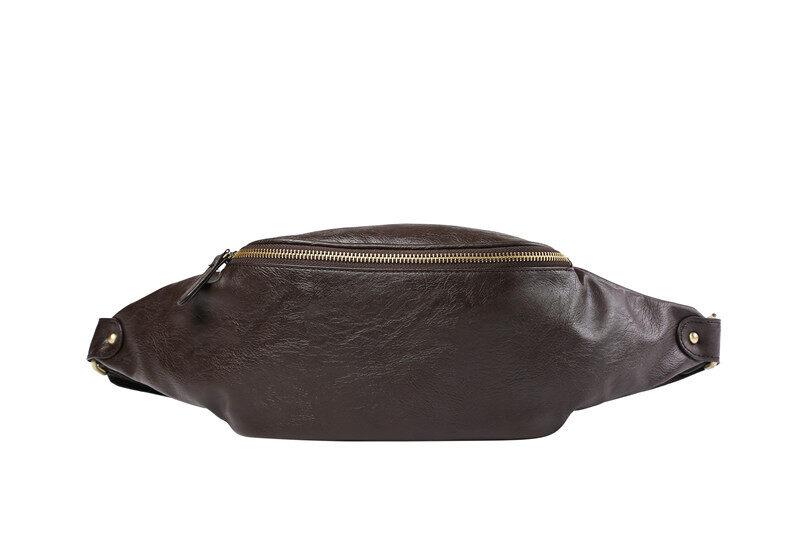 95a308e7d2d7 MILANDO Man Men PU Leather Waist Bag Crossbody Bag Beg Pinggang Lelaki Bags