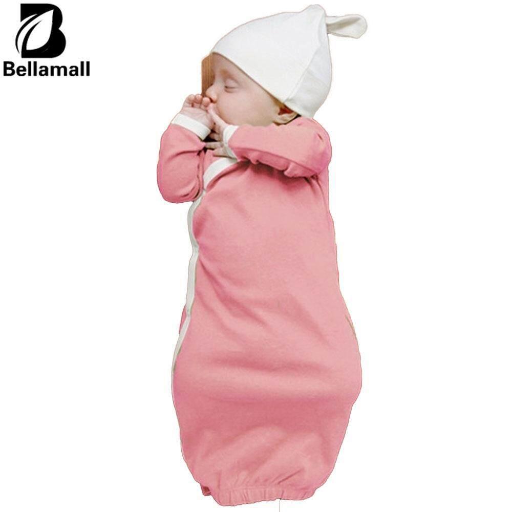 Bellamall:comfortable Baby Bedding Supplies Warm Toddler Baby Kids Sleeping Bag Sleep Gowns Sleepsack Stroller Wrap With Cap 80cm By Bellamall.