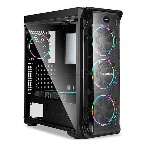[CAS]Segotep Lux II Mid Tower ATX Case - Black Malaysia