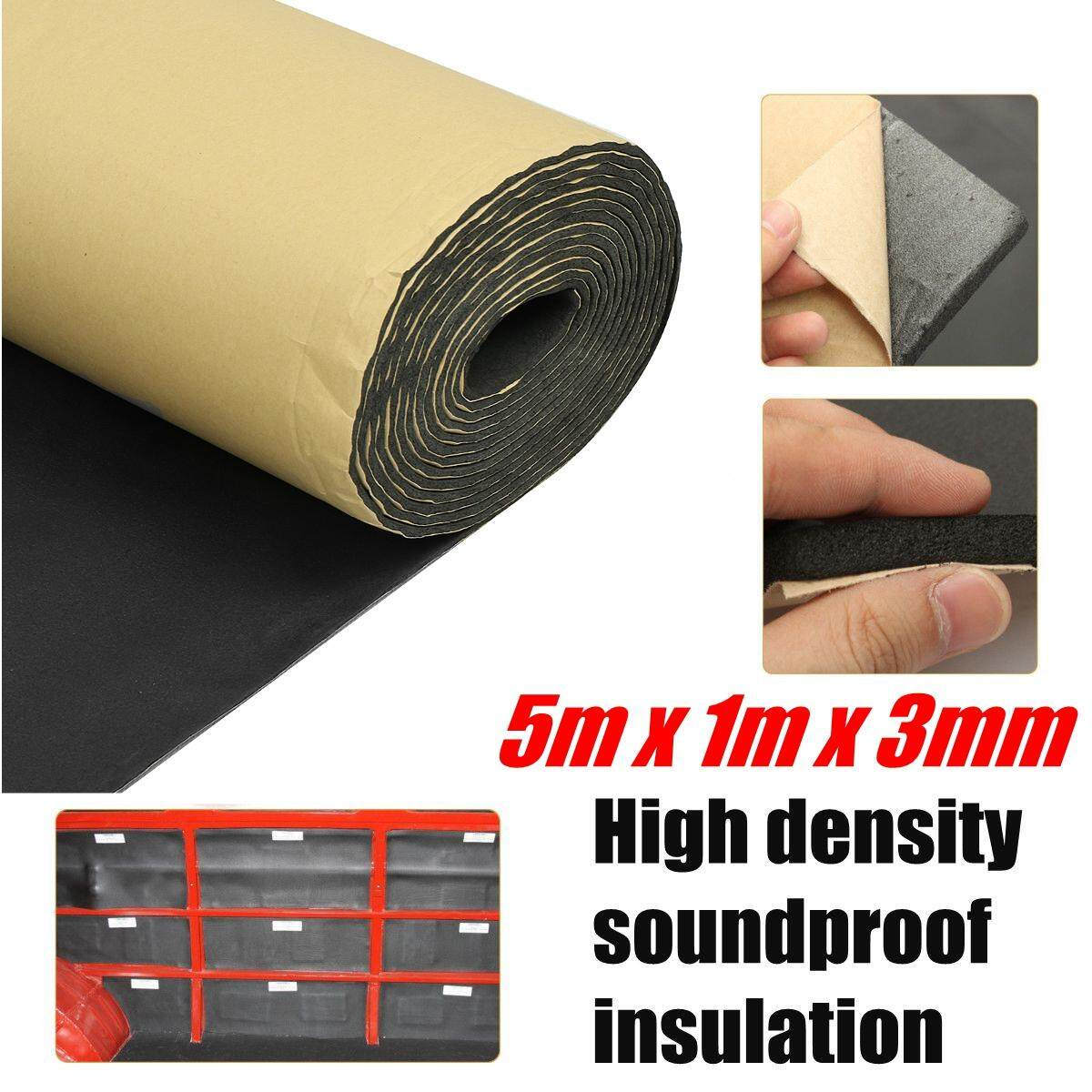 5m Roll Car Sound Proofing Deadening Motorhome Van Insulation Closed Cell Foam By Audew.