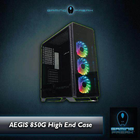 Gaming Freak AEGIS 850G TEMPERED GLASS CHASSIS Malaysia