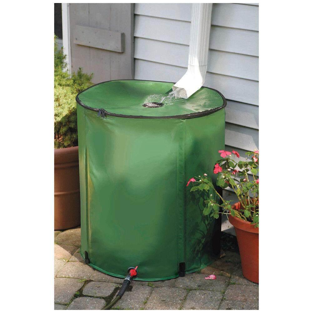 280l Eva Folding Water Collection Bucket Tank Storage Barrel Outdoor 60x98cm By Teamtop.