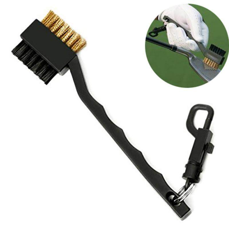 Pellet12 Golf Double-Side Putter Wedge Cleaning Brush Cleaner Portable Pocket Kit Tool By Pellet12.