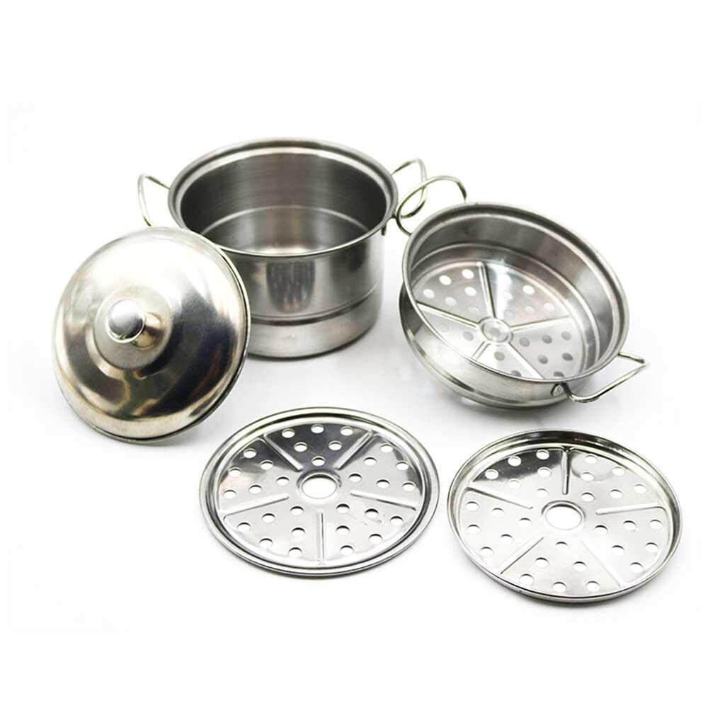 Vayuncong Pawaca Stainless Steel Pretend Play Kitchen Set For Kids,cooking Toy Cookware Play Set (5 Pcs) By Vayuncong.
