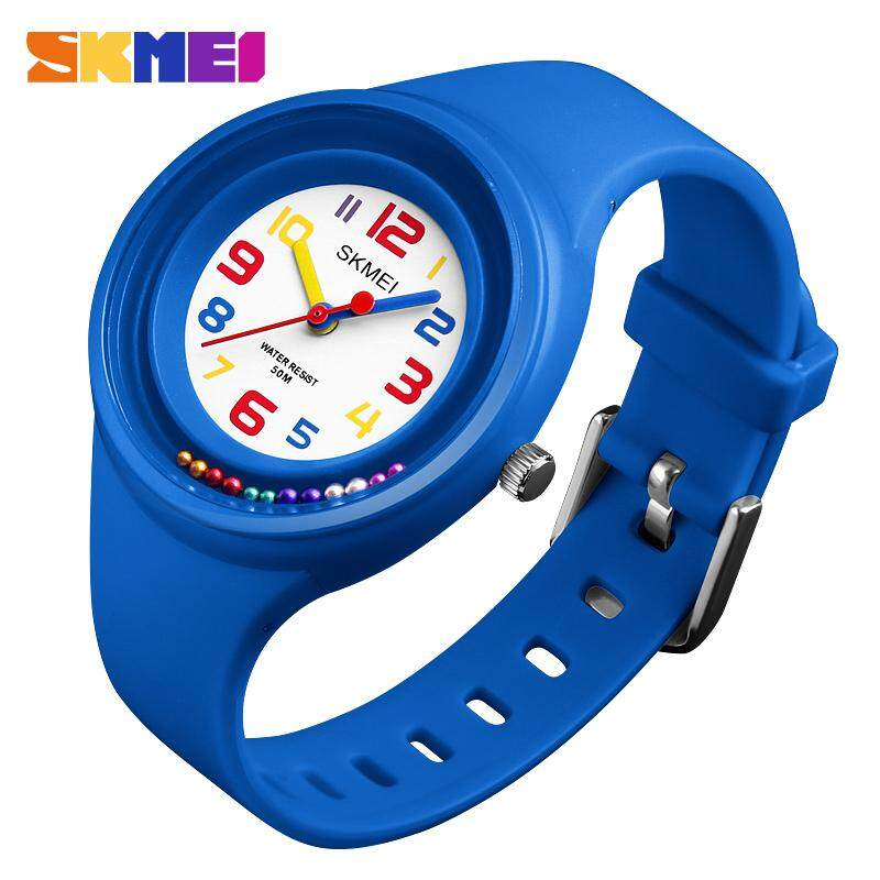 SKMEI New Children Kids Watches Fashion Casual Quartz Watch 50M Waterproof Clock Boy Girl Wristwatches Jam tangan kanak 1386 Malaysia