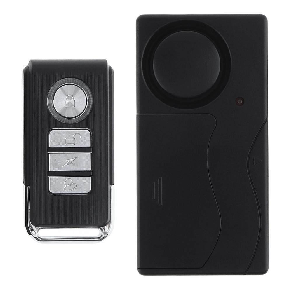 Wireless Remote Control Vibration Alarm Sensor Home Door