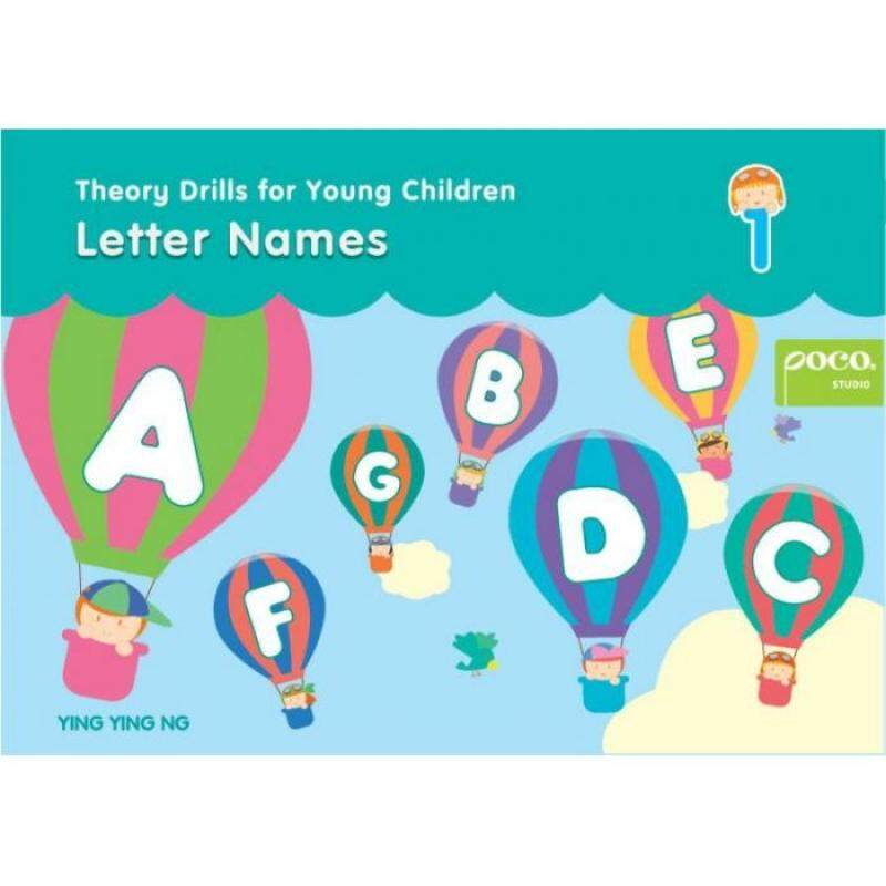 Theory Drills for Young Children Letter Names 1 Malaysia