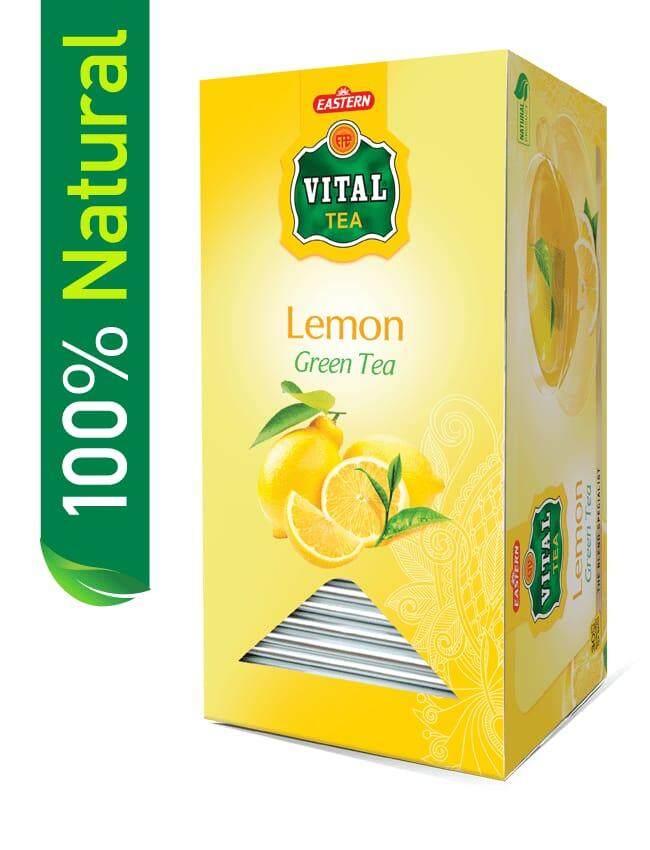 Eastern Vital Lemon Green Tea 25 Bags By Hajee Essa.