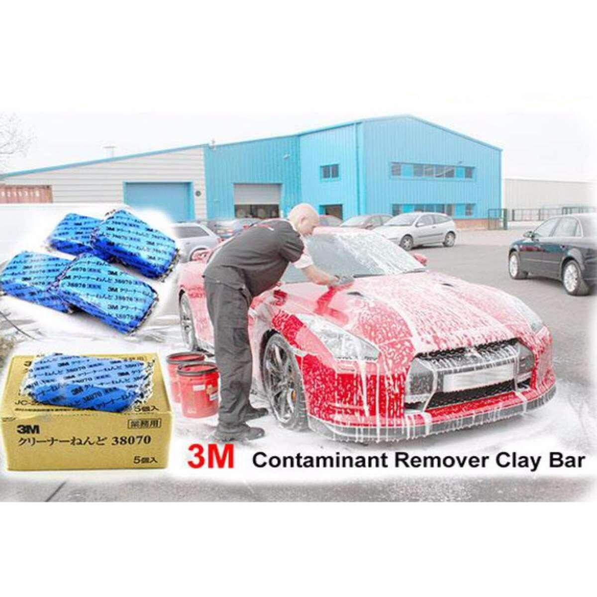 3M Car Body Contaminant Tar remover Clay Bar Stain Remover