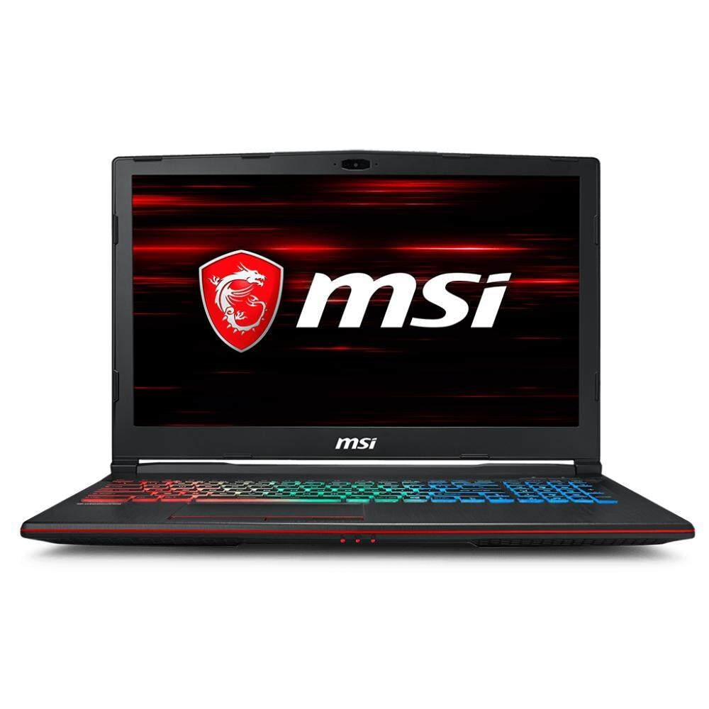 MSI GP63 8RD-409MY GAMING LAPTOP (i7-8750H, 8GB, 1TB+128GB, GTX1050Ti 4GB, W10) Malaysia