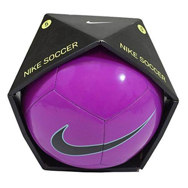 86ca5c5458008 NIKE Pitch Training Soccer Ball Fusion Pink Green Black Size Size Four Ball