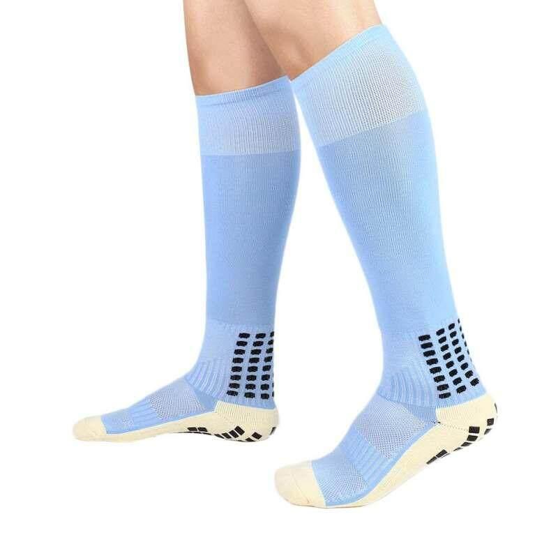 Stockings Comfortable Relief Socks Football Soccer Plain Long Socks Cotton Over Knee High Sock Sport Men Leg Compression Stretc Home