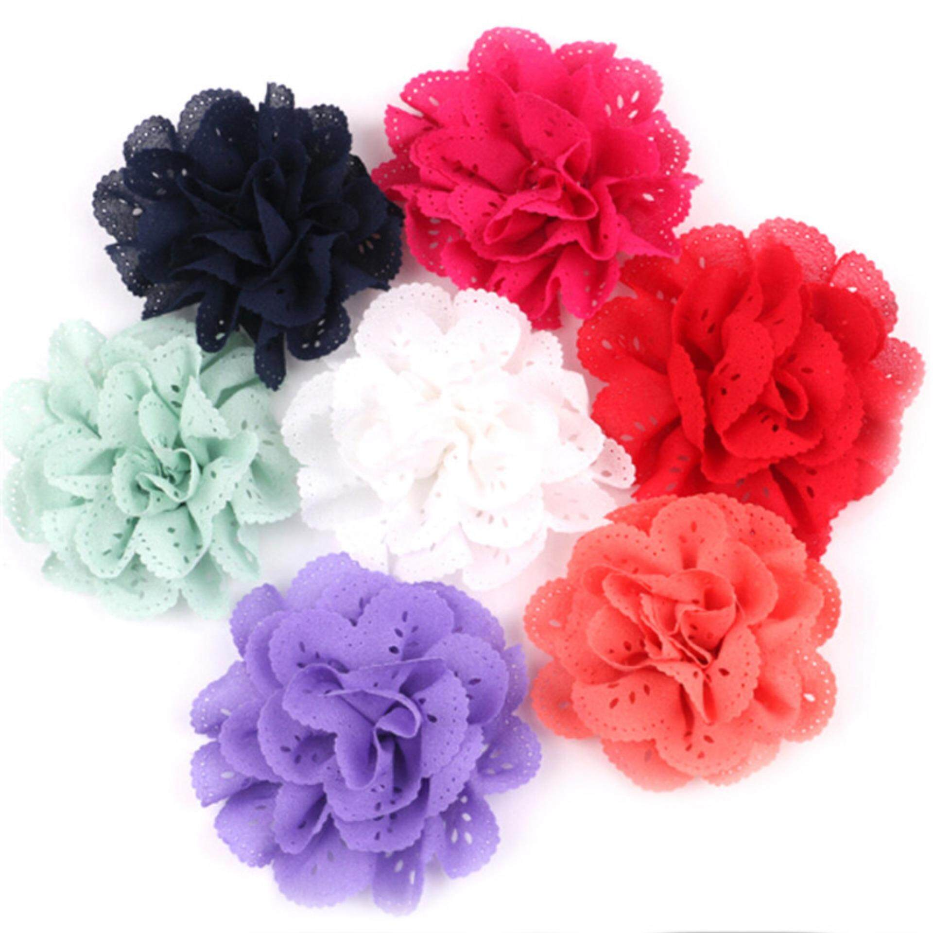 Girl's Hair Accessories Korea Fabric Tie Knot Hair Ands Embroidery Hairband Flower Crown Headbands For Girls Hair Bows Hair Accessories D Apparel Accessories