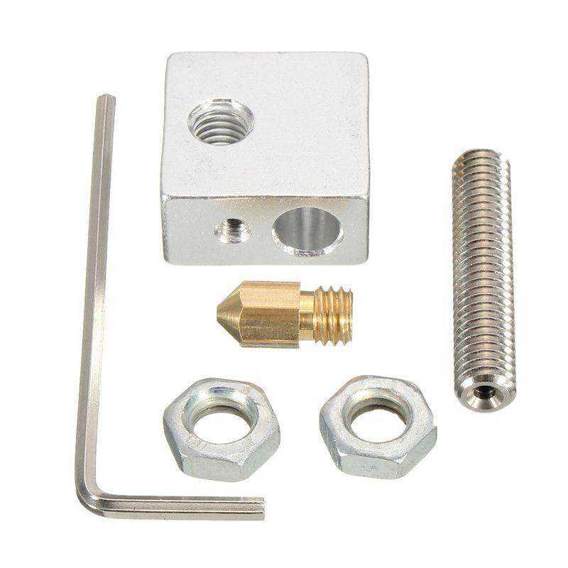 3d Printer Extruder Accessories Parts Tools Nozzle Print Head+ Nozzle Throat + Heater Block For Makerbot By Xhkjin.