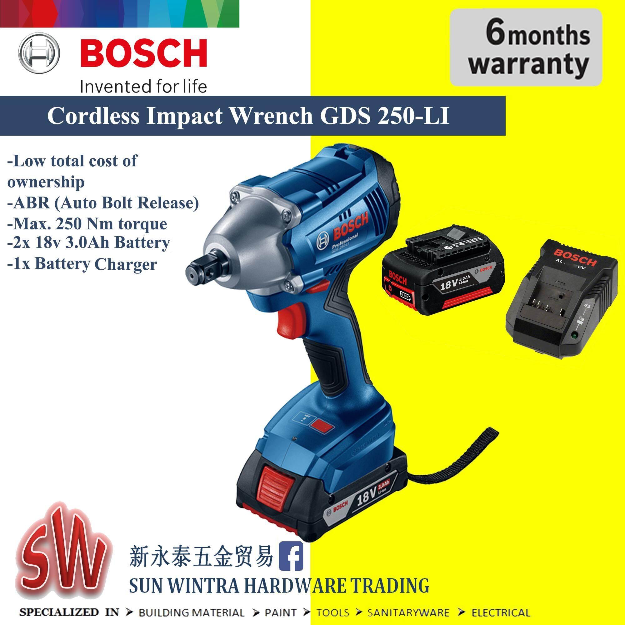 Bosch Cordless Impact Wrench GDS 250-LI Professional