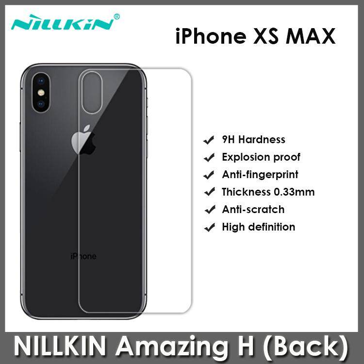 Apple iPhone XS Max NILLKIN Amazing H Anti-Explosion Glass Screen Protector (Back Cover