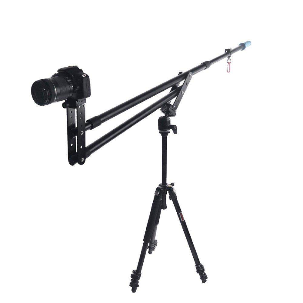 Portable Dslr Mini Jib Video Camera Dv Crane Jibs Rocker Arm Extention Up To 6kg With Bag By Superbuy666.