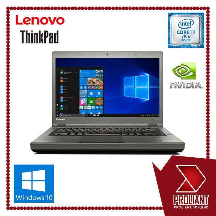 LENOVO THINKPAD T440P CORE I7 V-PRO /4GB DDR3 /320GB HDD / NVIDIA GEFORCE GT730 Malaysia