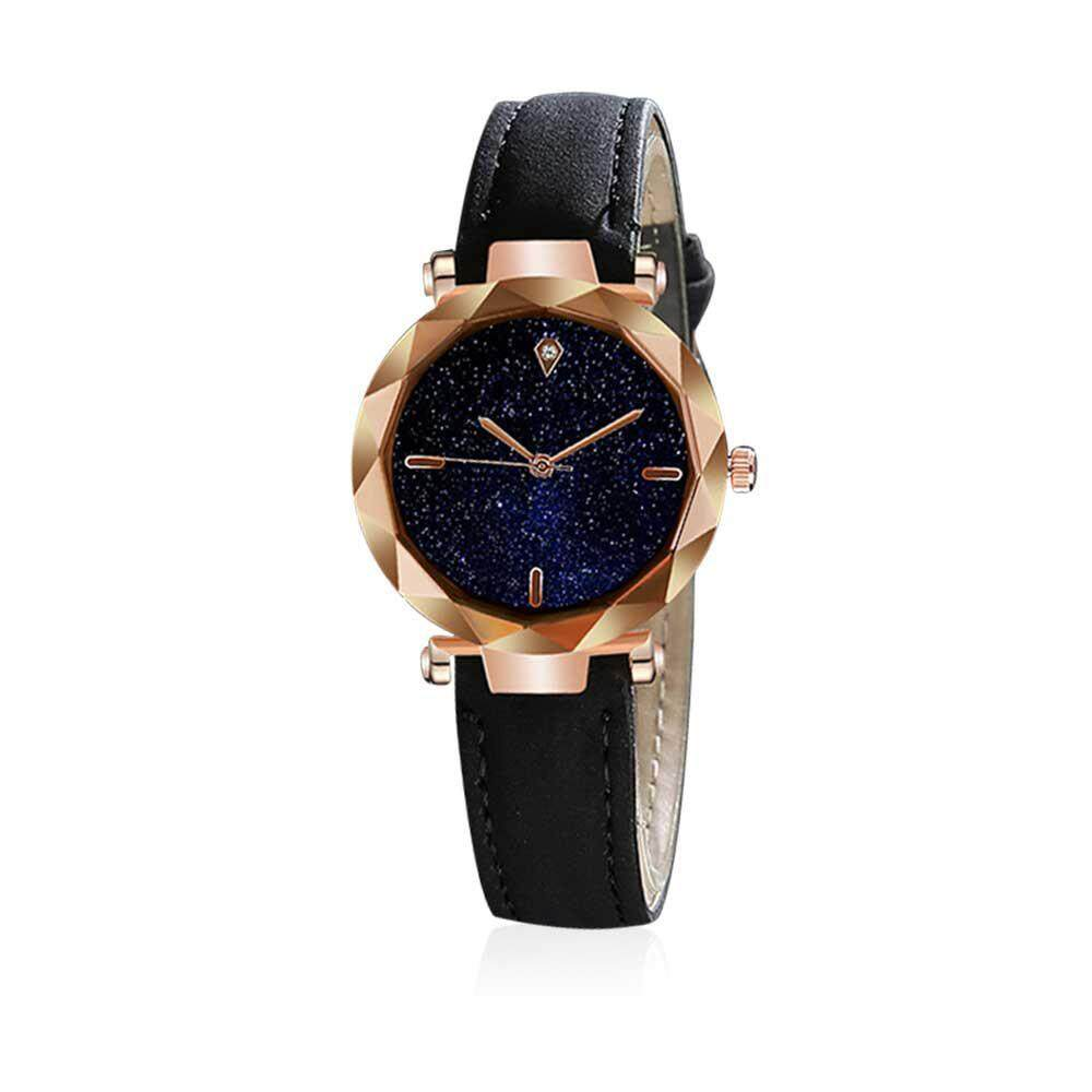 Kacoo Retro Korean Stlye Quartz Watch For Women, Analogue Lady Wrist Watch With Round Dial Case Comfortable Pu Leather Wristband For Any Outfit By Kacoo.