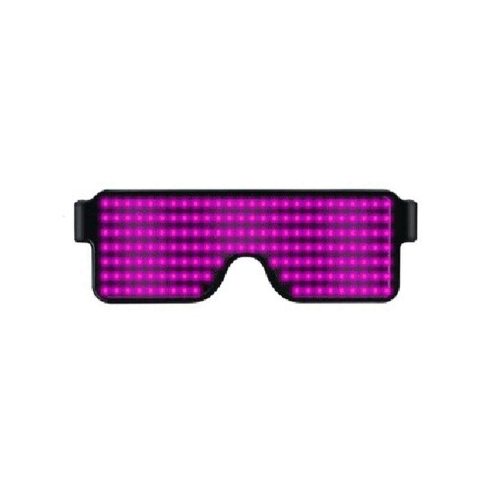 Goodgreat Club Glowing Glasses Neon Glowing Glasses Multicolor Led Luminous Glasses For Party Christmas Birthday By Good&great.