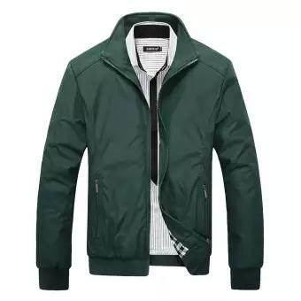 8c1c1d4e5e Brand clothing Men s Bomber Polo Windbreaker Jackets 2019 Sportswear  Waterproof Casual Outwear mens jackets and coats
