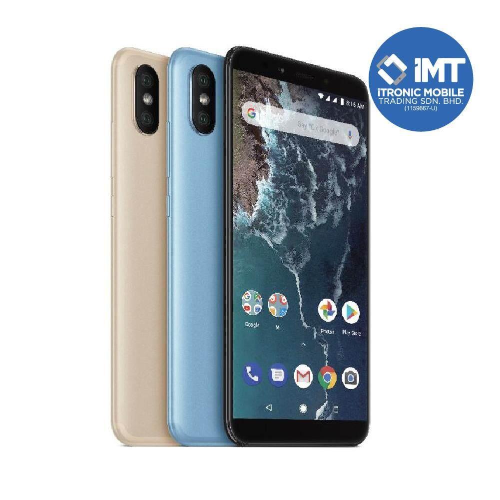 XiaoMi Mi A2 [6GB RAM/128GB ROM] Black/Gold/Blue - Original Import Set