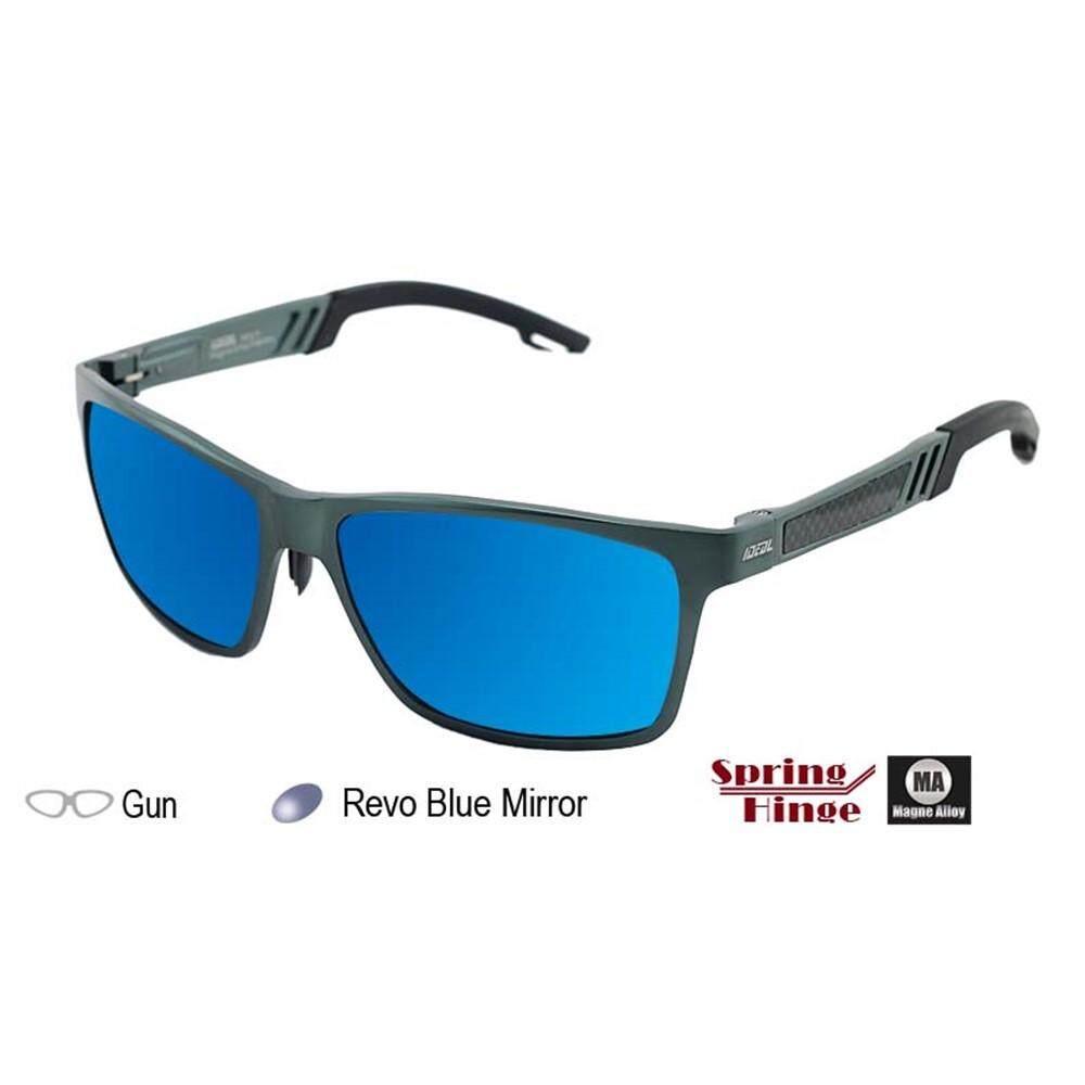 078f1ba950 4GL IDEAL MA18 Magne Alloy Spring Hinge Polarized Sunglasses UV400