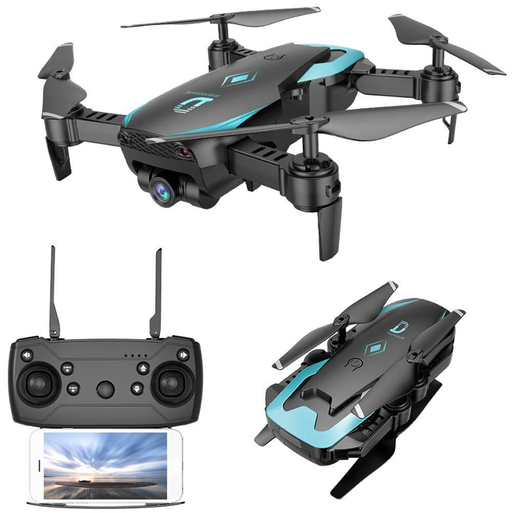 X12 Wifi Fpv Rc Drone Altitude Hold 480p Camera Wide-Angle Lens Waypoints Follow Headless Mode One Key Return / Takeoff / Landing By Easyplus Go.