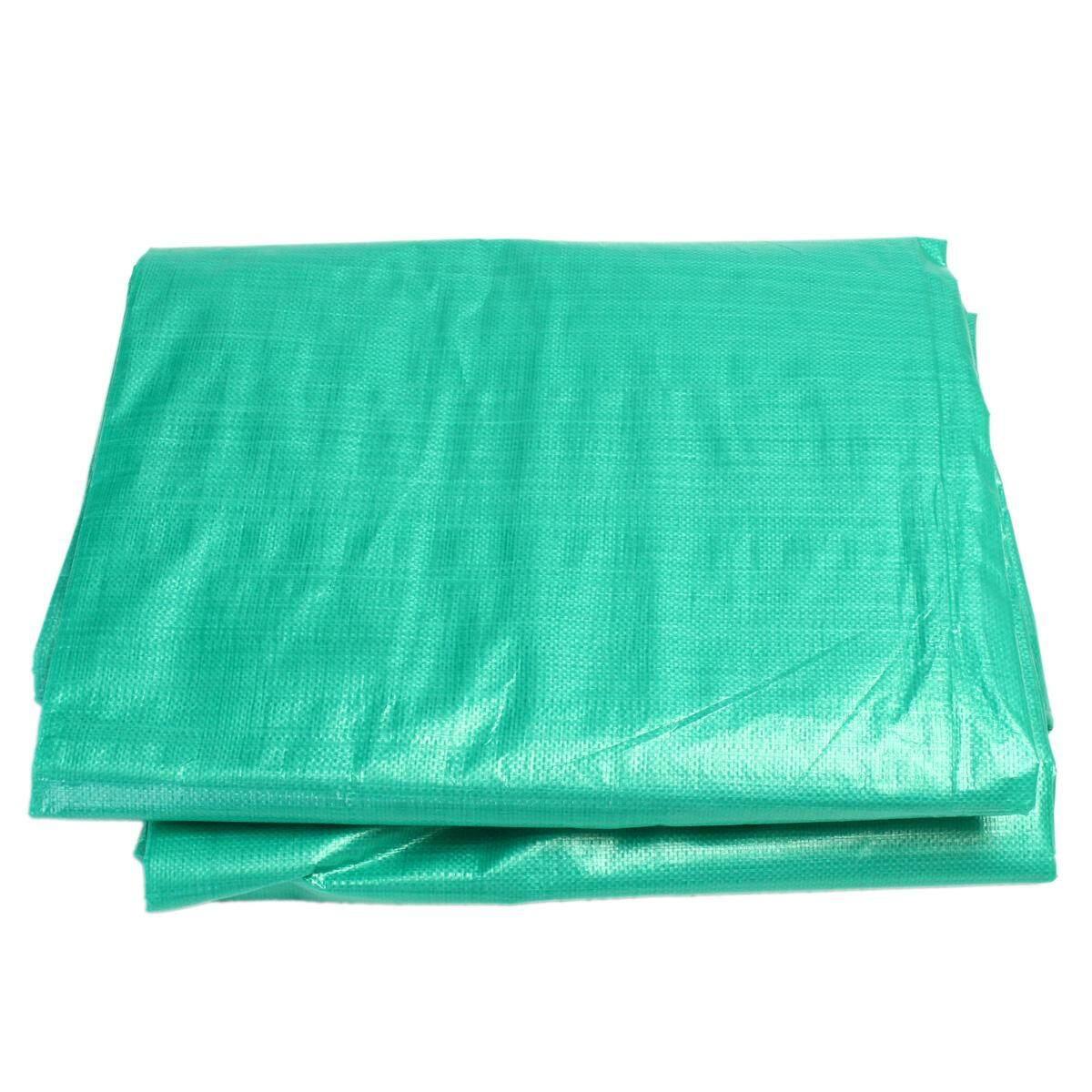5.4x7.3m Large Camouflage Tarpaulin Waterproof Sheet Cover Canvas Ground Camo Hunting Fishing