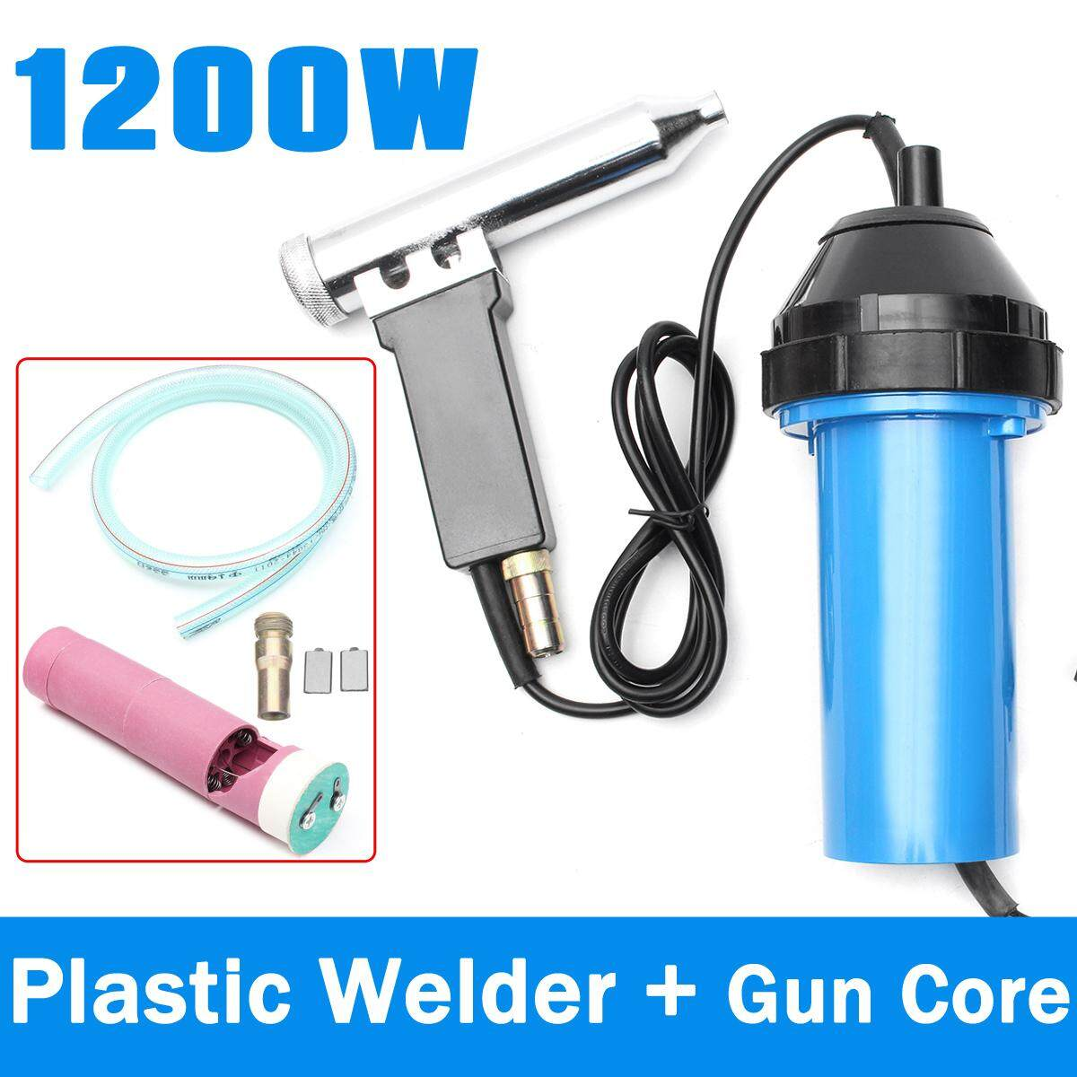 1200W Plastic Hot Air Welding With Core Plastic Welding Kit Hot Air Tool 50-550℃