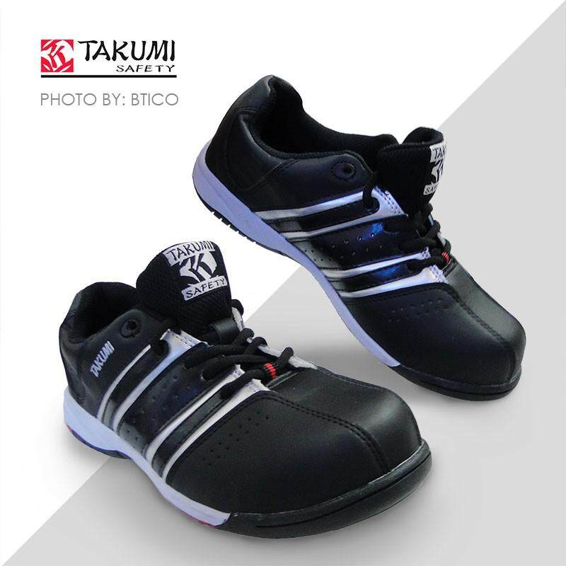 Takumi Tsh-115, Sporty Safety Shoe (black) Uk Size - 7 By E-Street.