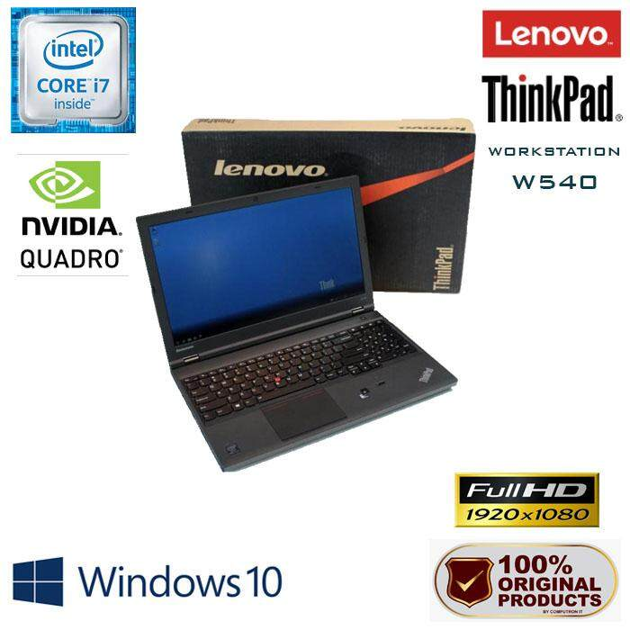 LENOVO THINKPAD W540 WORKSTATION [ CORE I7-4800MQ/ 16GB RAM/ 750GB HDD/ 2GBDDR5 NVIDIA QUADRO K2100M] Malaysia