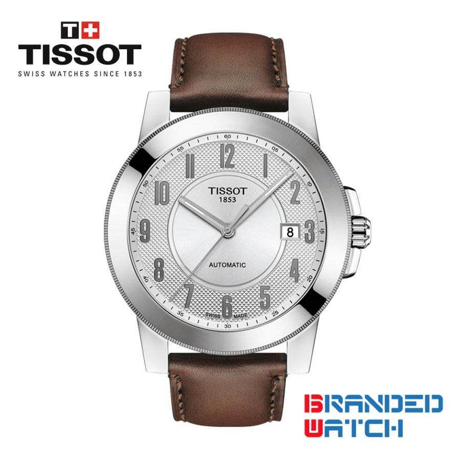 Tissot Watches Price In Malaysia Best Lazada Couturier Chronograph T0356271605100 T0984071603200 Mens Gentleman Swissmatic Automatic Leather Watch