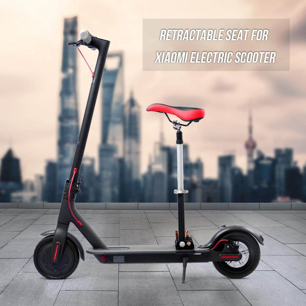 Foldable Height Adjustable Saddle Set for Xiaomi Electric Scooter Chair  M365 Scooter Electric Scooter Retractable Seat with Bumper