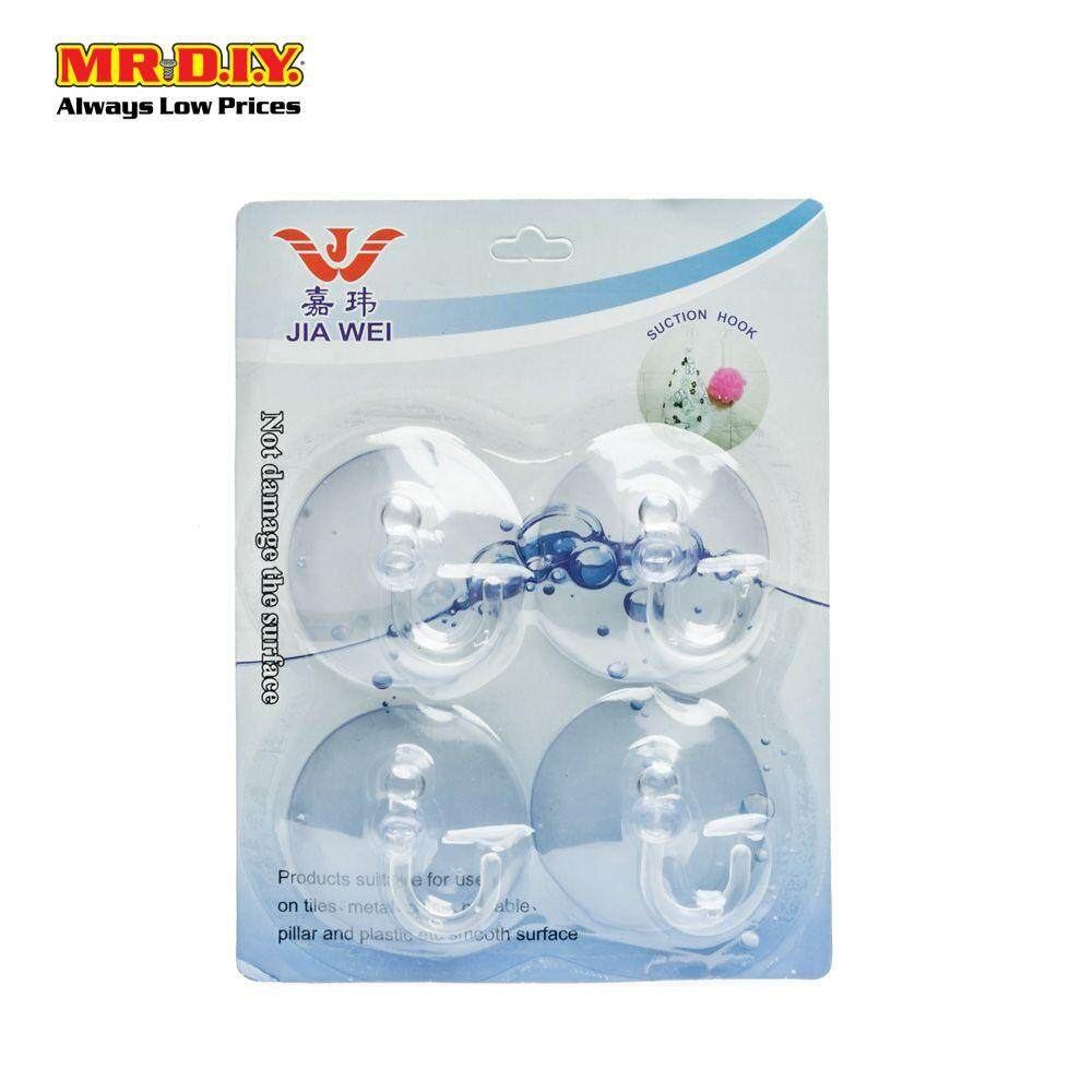 Jia Wek Suction Hooks (4 pieces)
