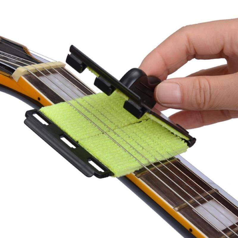 Strings Care Polish Cleaner Cloth Tool for Guitar, Bass, Ukulele Malaysia