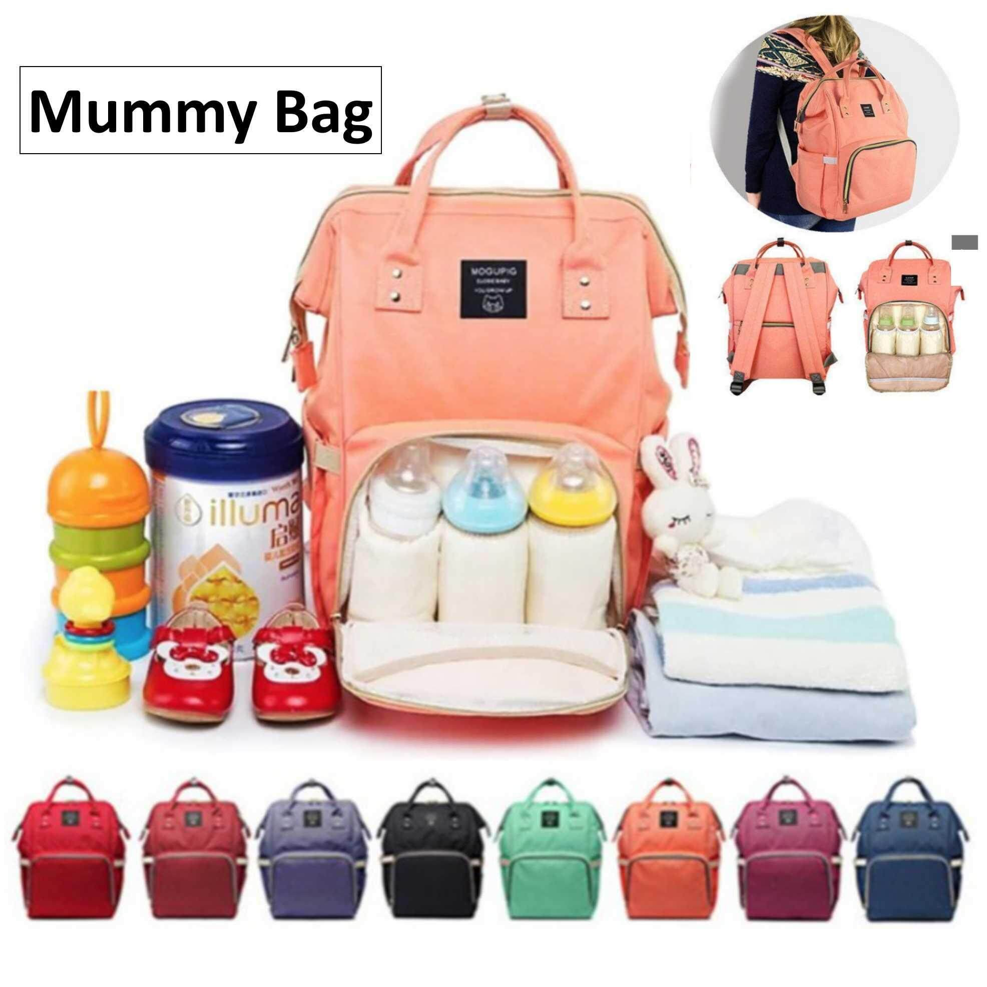 Diaper Bags For The Best Price In Malaysia Babygo Inc Travelling Pouch Organiser Daddy Bag Mummy Large Capacity Multifunctional Backpack