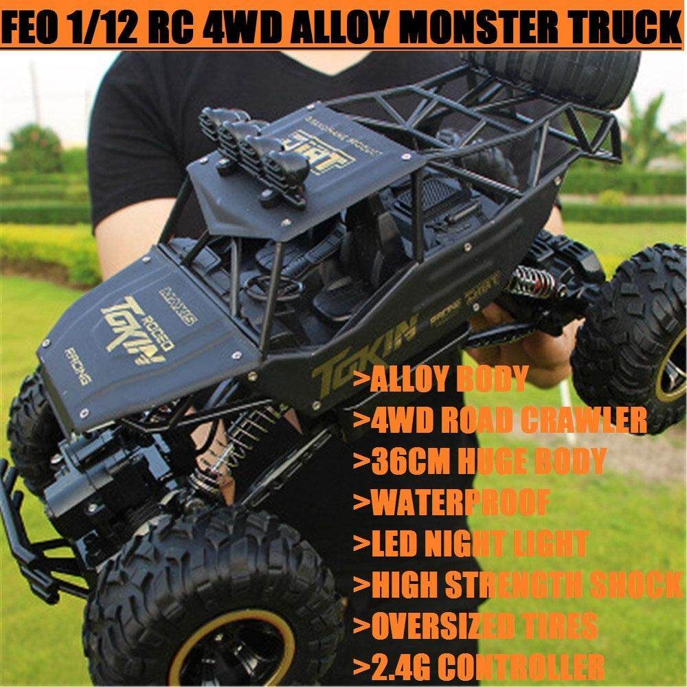 Rc Vehicles Buy At Best Price In Malaysia Lazada 1 64 Aksesoris Truck Feo Off Road Crawler 112 Scale 4wd Alloy Body Remote Control High