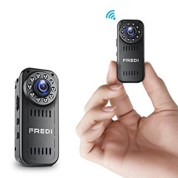 FREDI Hidden Camera 1080p HD Mini WiFi Camera spy Camera Wireless Camera for iPhone/Android