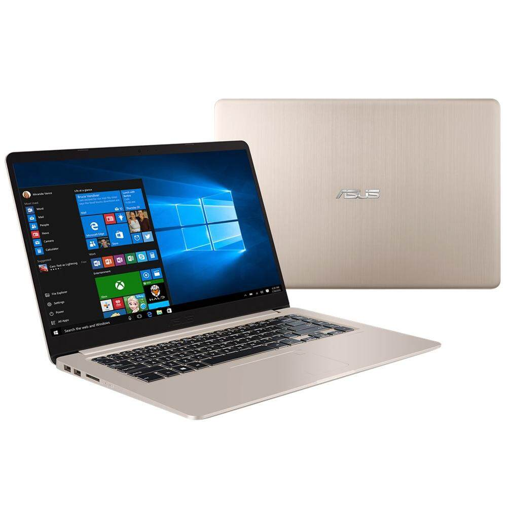 Asus Vivobook S15 S510U-NBQ351T 15.6 FHD Laptop Gold (i7-8550u, 4GB, 1TB+256GB, MX150 2GB, W10H ) Malaysia