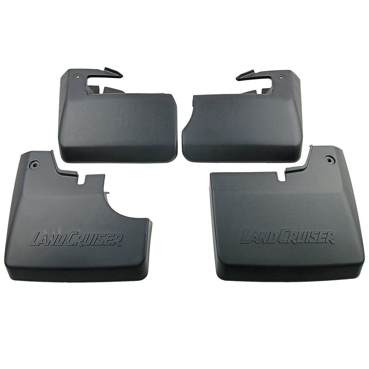 Mud Flap Splash Guard Set For Toyota Land Cruiser 70 J71 2007-On Swb W/ Fender By Carpartsmy..